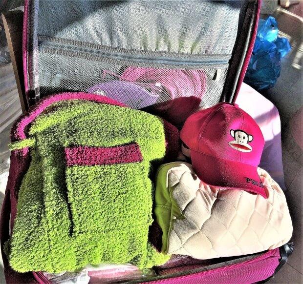 Βαλίτσα κατασκήνωσης έτοιμη