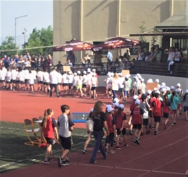 παρέλαση αθλητών στοίβου